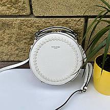 Стильна сумка-таблетка David Jones Bali біла БАЛИ3, фото 2