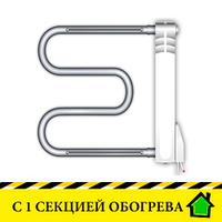 Электрополотенцесушители Эра+ Премиум с одной секцией обогрева