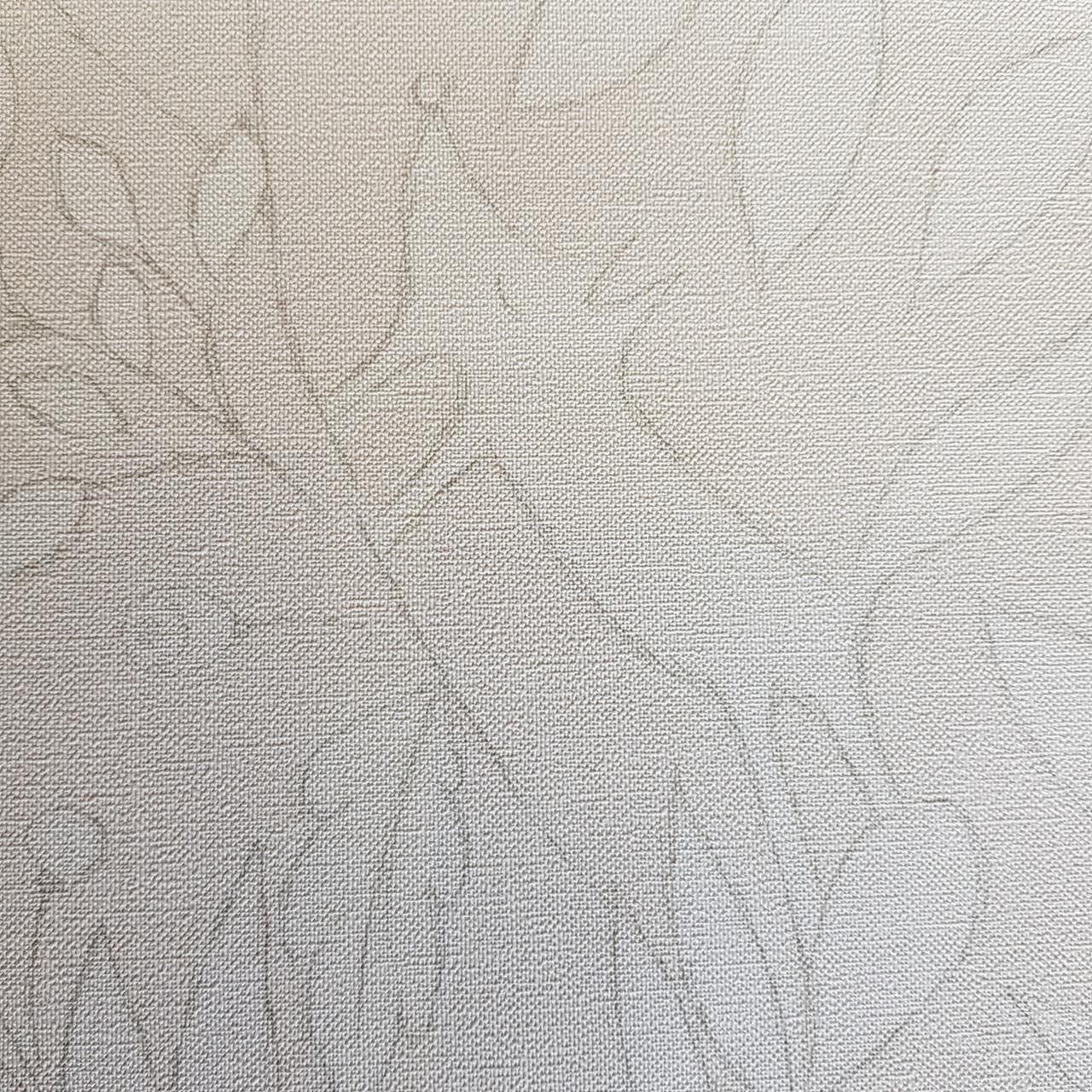 Флізелінові шпалери дитячі BN Doodleedo 0,53 х 10 м тварини олені зайці квіти білі на світло-бежевому