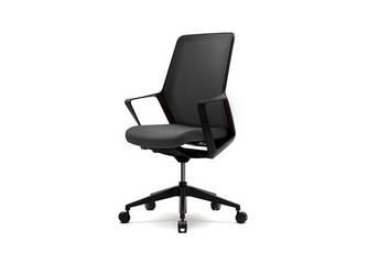 Кресло для компьютерного стола Enrandnepr  FLO black черный
