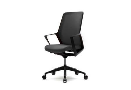 Кресло для компьютерного стола FLO black