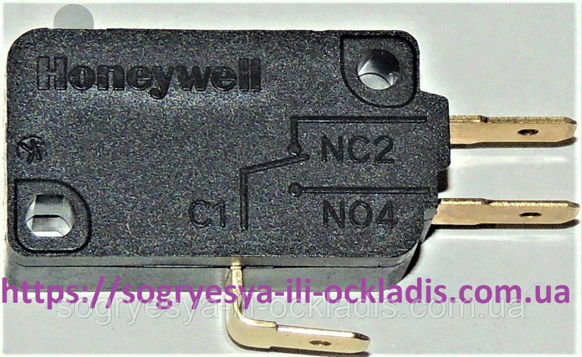 Выключ. черн.Honeywell 3 конт. 125/250 VAC (б.ф у, Кит) котлов газ. Baxi Westen и др, арт. VI5S05, к.з. 0068/1