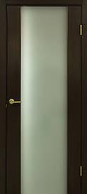 Двері Omis Прем'єра ПО натуральний шпон Венге FL, 900