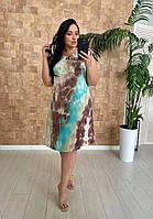 Летнее платье большого размера Венеция