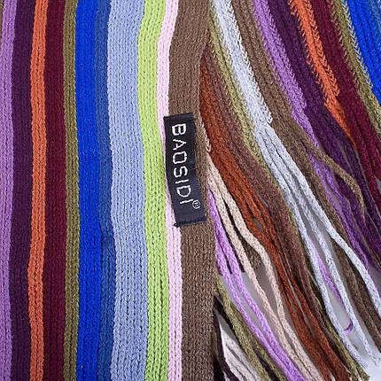 Оригинальный мужской шерстяной шарф в стиле PAUL SMITH 160 на 28 см BAOSIDI (БАОСИДИ) DC183-404, фото 2