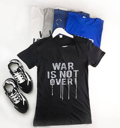 Стильная мужская футболка с надписью, фото 2
