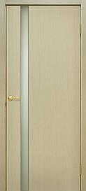 Двері Omis Прем'єра 1 ПО натуральний шпон Дуб білений FL, 700