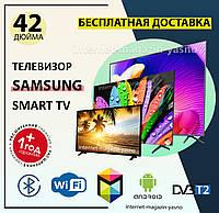Телевизор Самсунг Samsung 42 дюйма SMART TV FULL HD телевизор 42 дюйма смарт тв,с подставкой T2, Самсунг