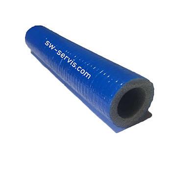Утеплитель для труб 15/6 мм sanflex stabil с полимерным покрытием