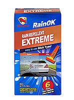 Антидождь Bullsone RainOK Extreme водоотталкивающее покрытие для стекол / на 5 обработок* / 80 мл
