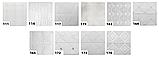 Самоклеящаяся декоративная 3D панель белая на потолок, стену 700*700*5мм потолочные 3д панели на самоклейке, фото 6