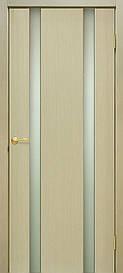 Двері Omis Прем'єра 2 ПО натуральний шпон Дуб білений FL, 900