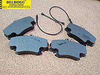 Колодки тормозные передние Lifan Breez 520, Лифан 520, Ліфан 520
