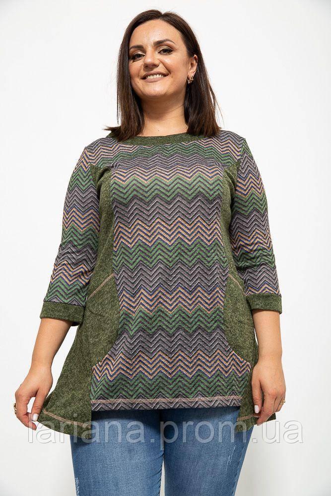 Туніка жіноча 150R001 колір Зелений