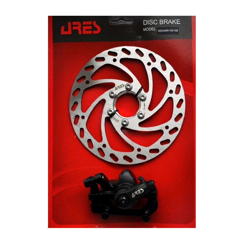 Дискові гальма ARES MDA08+SE16B IS F180/R160 мм ротор 160 мм з гайкою