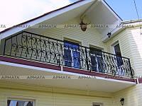 Стальные ограждения балконов