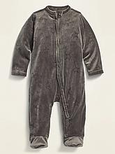 Человечек велюровый для мальчика Old Navy, 0-3м (48-58см)