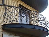 Ограждения лестниц балконов и крыш стальные