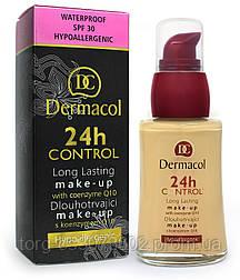 Тональный крем для лица Dermacol 24H Control Maqke-Up, 30 мл.