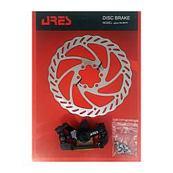 Дискові гальма ARES MDA08+SM16 IS F160/R140 мм ротор 160 мм з гайкою