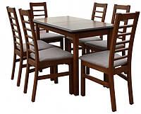 Деревянный раскладной стол Сид, орех
