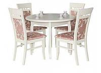 Деревянный раскладной стол Элис, белый