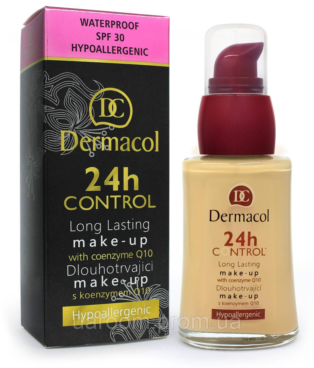 Тональний крем для обличчя Dermacol 24H Control (скло)