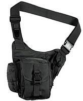 Тактическая удобная мужская сумка Red Rock Sidekick Sling (Black) 922180
