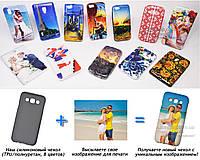 Печать на чехле для Samsung E500H Galaxy E5 (Cиликон/TPU)