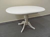 Деревянный раскладной стол Анжелика, бежевый