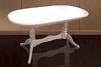 Деревянный раскладной стол Даниэль, бежевый