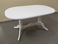 Деревянный раскладной стол Даниэль, белый