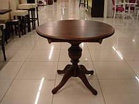 Деревянный раскладной стол Анжелика, орех