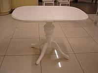 Деревянный раскладной стол Эмиль, белый
