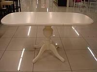 Деревянный раскладной стол Эмиль, бежевый