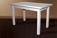 Деревянный раскладной стол Классик3, белый