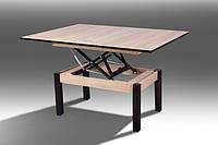 Деревянный стол-трансформер Флай, дуб сонома