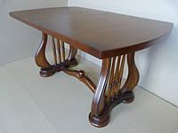 Деревянный раскладной стол Лира2, орех