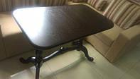 Деревянный раскладной стол Дуэт, венге