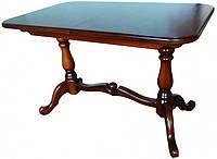 Деревянный раскладной стол Дуэт, светлый орех