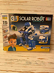Робот-конструктор Solar Robot на сонячних батареях YG Toys