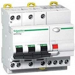 Дифавтомат Schneider Electric Acti 9 DPN Vigi 3P+Np 25A 6kA 30mA C A9D31725