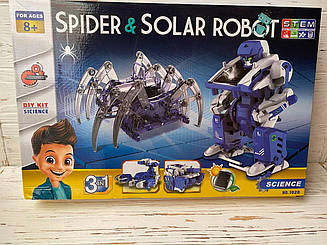 Робот-конструктор на сонячних батареях