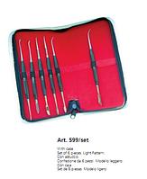 Набор инструментов для воска 599/set Medesy