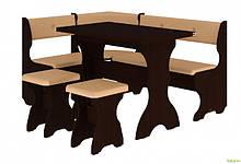 Кухонный уголок Принц (с раскл.столом) Пехотин