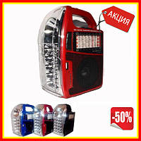 Радіоприймач Juncda JC-1308UR (M/AM/SW/SD/МР3),1200 мА/ч, від батарейок, радіоприймач Juncda з LED-ліхтариком