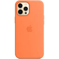 Чехол Sillicon Case для iPhone 12 Pro Max with magsafe Kumquat