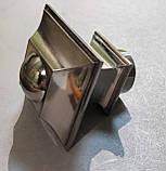 Карниз для штор металевий БОРДЖЕЗА подвійний 25+19 мм 1.8 м Колір Сталь, фото 3