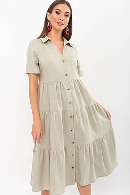 Літнє плаття на гудзиках