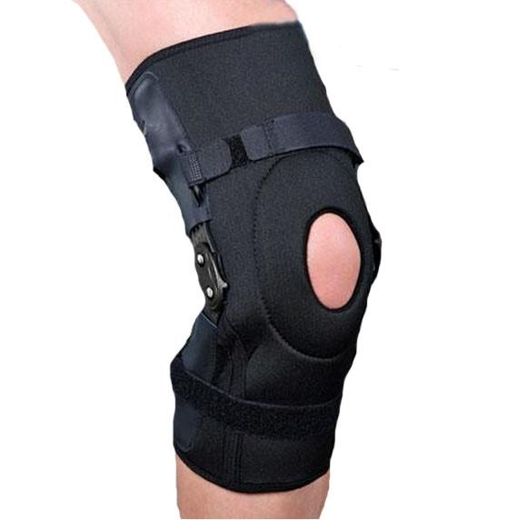 Бандаж на коленный сустав разъемный с полицентрическими шарнирами Ortop ES-798